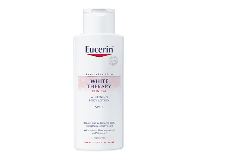 eucerin white therapy whitening body lotion. Black Bedroom Furniture Sets. Home Design Ideas
